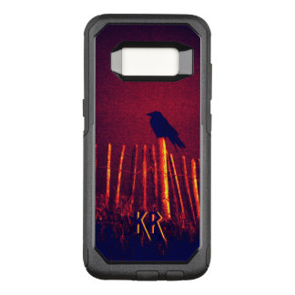 Capa OtterBox Commuter Para Samsung Galaxy S8 Gótico Quoth o corvo sob o céu da meia-noite,