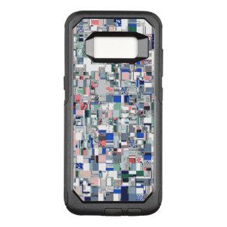 Capa OtterBox Commuter Para Samsung Galaxy S8 Grade geométrica das cores