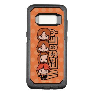 Capa OtterBox Commuter Para Samsung Galaxy S8 Gráfico de Weasley Siblilings dos desenhos