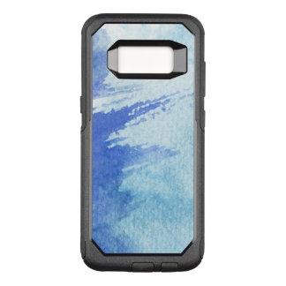 Capa OtterBox Commuter Para Samsung Galaxy S8 grande fundo da aguarela - pinturas 4 da aguarela