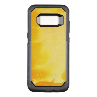 Capa OtterBox Commuter Para Samsung Galaxy S8 grande fundo da aguarela - pinturas 5 da aguarela