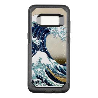 Capa OtterBox Commuter Para Samsung Galaxy S8 Grande onda de alta qualidade fora de Kanagawa por