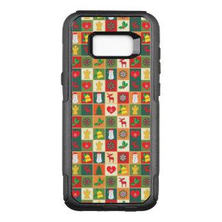 Capa OtterBox Commuter Para Samsung Galaxy S8+ Grande teste padrão do Natal