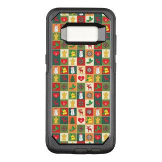 Capa OtterBox Commuter Para Samsung Galaxy S8 Grande teste padrão do Natal