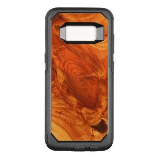 Capa OtterBox Commuter Para Samsung Galaxy S8 Grão de madeira fantástica