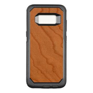 Capa OtterBox Commuter Para Samsung Galaxy S8 Grão fina do olhar de madeira da cereja