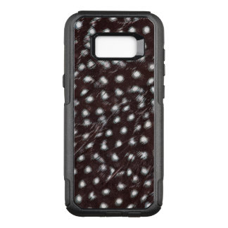 Capa OtterBox Commuter Para Samsung Galaxy S8+ Guineafowl manchou o abstrato da pena