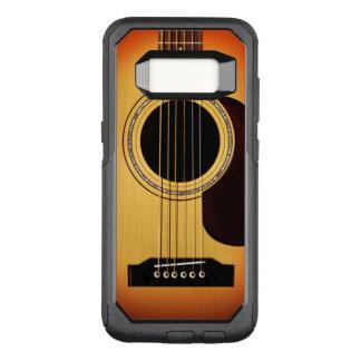 Capa OtterBox Commuter Para Samsung Galaxy S8 Guitarra acústica do Sunburst