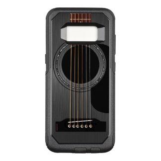 Capa OtterBox Commuter Para Samsung Galaxy S8 Guitarra acústica preta