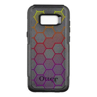 Capa OtterBox Commuter Para Samsung Galaxy S8+ Hex da cor com cinza