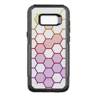 Capa OtterBox Commuter Para Samsung Galaxy S8+ Hex da cor no branco