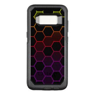 Capa OtterBox Commuter Para Samsung Galaxy S8 Hex da cor no preto