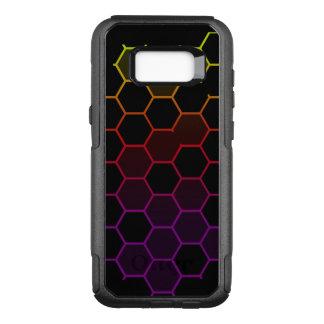 Capa OtterBox Commuter Para Samsung Galaxy S8+ Hex da cor no preto