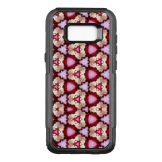 Capa OtterBox Commuter Para Samsung Galaxy S8+ Hibiscus cor-de-rosa & a capa de telefone da