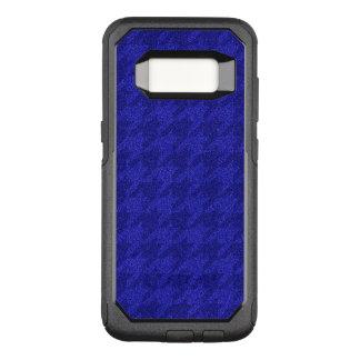 Capa OtterBox Commuter Para Samsung Galaxy S8 houndstooth sparkling, azul manchado de tinta (i)