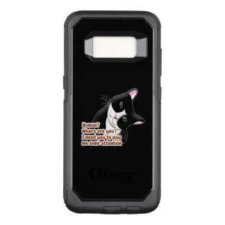 Capa OtterBox Commuter Para Samsung Galaxy S8 Humano? Onde está você? Gato