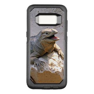 Capa OtterBox Commuter Para Samsung Galaxy S8 Iguana do rinoceronte