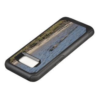 Capa OtterBox Commuter Para Samsung Galaxy S8 Jacaré na água