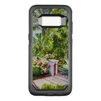 Capa OtterBox Commuter Para Samsung Galaxy S8 Jardim de rosas do canal