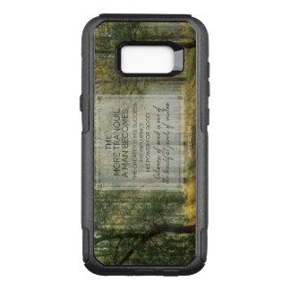 Capa OtterBox Commuter Para Samsung Galaxy S8+ Jóias bonitas da sabedoria por James Allen