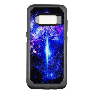Capa OtterBox Commuter Para Samsung Galaxy S8 Koi iridescente cósmico