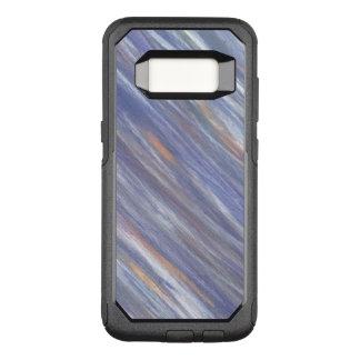 Capa OtterBox Commuter Para Samsung Galaxy S8 Lavanda de prata roxa à moda alheado listrada
