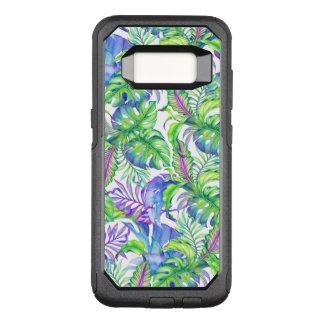 Capa OtterBox Commuter Para Samsung Galaxy S8 Lavanda tropical do azul do verde do rosa do