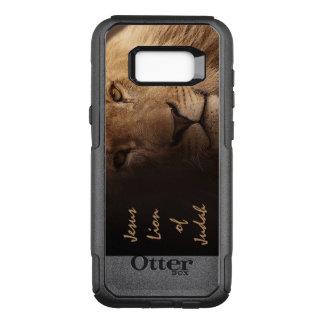 Capa OtterBox Commuter Para Samsung Galaxy S8+ Leão de Jesus de citações cristãs inspiradas de