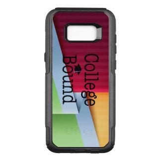 Capa OtterBox Commuter Para Samsung Galaxy S8+ Limite da faculdade do T