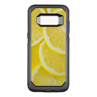 Capa OtterBox Commuter Para Samsung Galaxy S8 Limões amarelos da fatia