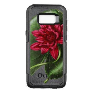 Capa OtterBox Commuter Para Samsung Galaxy S8+ Lírio de água vermelha