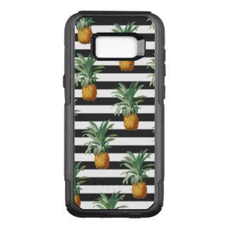Capa OtterBox Commuter Para Samsung Galaxy S8+ listras dos abacaxis cinzentas