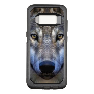 Capa OtterBox Commuter Para Samsung Galaxy S8 Lobo cinzento