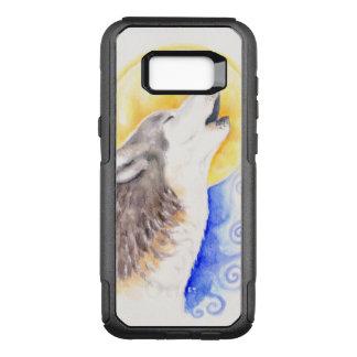 Capa OtterBox Commuter Para Samsung Galaxy S8+ Lobo do urro
