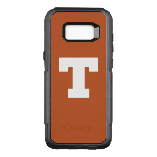 Capa OtterBox Commuter Para Samsung Galaxy S8+ Logotipo da Universidade do Texas | Texas