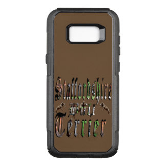 Capa OtterBox Commuter Para Samsung Galaxy S8+ Logotipo de Staffy, galáxia S8 de OtterBox
