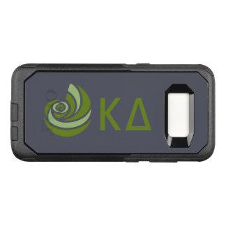 Capa OtterBox Commuter Para Samsung Galaxy S8 Logotipo grande de Lil do delta do Kappa