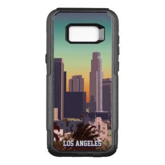 Capa OtterBox Commuter Para Samsung Galaxy S8+ Los Angeles do centro personalizada, Califórnia