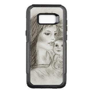 Capa OtterBox Commuter Para Samsung Galaxy S8+ Mãe e criança