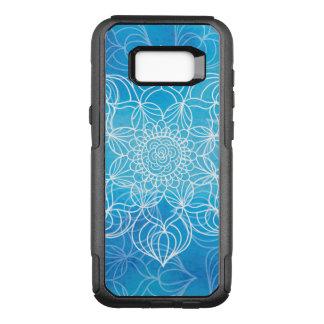 Capa OtterBox Commuter Para Samsung Galaxy S8+ Mandala azul