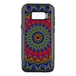 Capa OtterBox Commuter Para Samsung Galaxy S8+ Mandala colorida