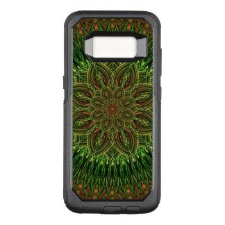 Capa OtterBox Commuter Para Samsung Galaxy S8 Mandala da flor da terra