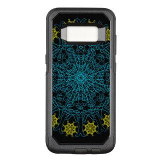 Capa OtterBox Commuter Para Samsung Galaxy S8 Mandala da flor do maquinismo de relojoaria