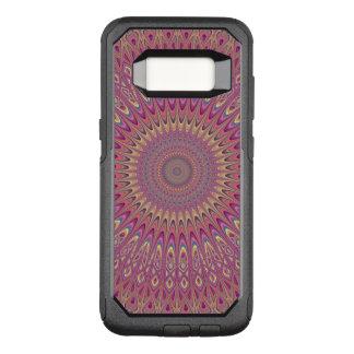 Capa OtterBox Commuter Para Samsung Galaxy S8 Mandala da grade do Hippie