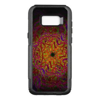 """Capa OtterBox Commuter Para Samsung Galaxy S8+ Mandala da inspiração - """"paz """""""