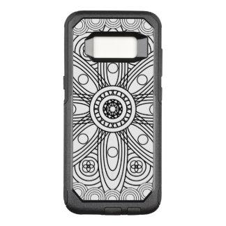Capa OtterBox Commuter Para Samsung Galaxy S8 Mandala das estruturas atômicas