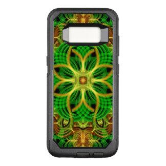 Capa OtterBox Commuter Para Samsung Galaxy S8 Mandala do coração da floresta