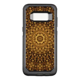 Capa OtterBox Commuter Para Samsung Galaxy S8 Mandala dourada do olho