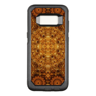 Capa OtterBox Commuter Para Samsung Galaxy S8 Mandala dourada do Weave