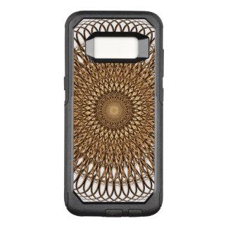 Capa OtterBox Commuter Para Samsung Galaxy S8 Mandala espiral da terra